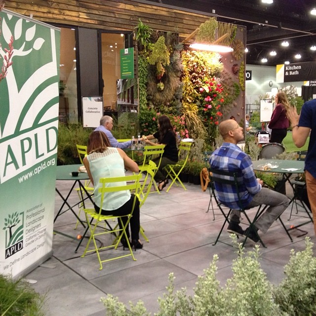 #APLD professional landscape designers at #dwellondesign  doing design consultations @agrowingpassion