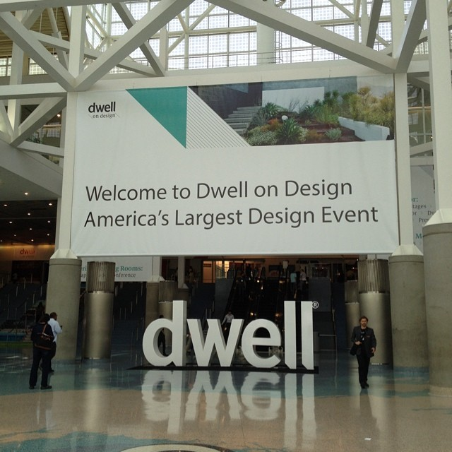 So excited to be attending #DwellOnDesign at the #losangelesConventionCenter. Cant wait to see the cool ideas and products for #outdoorliving. @agrowingpassion