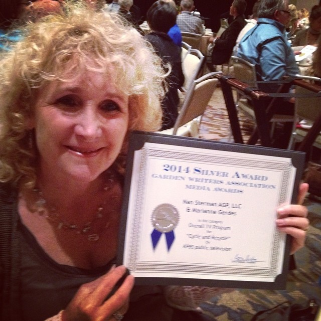 Yeah Team! We won another TV award from #gardenwriters!  #gwa14  @agrowingpassion