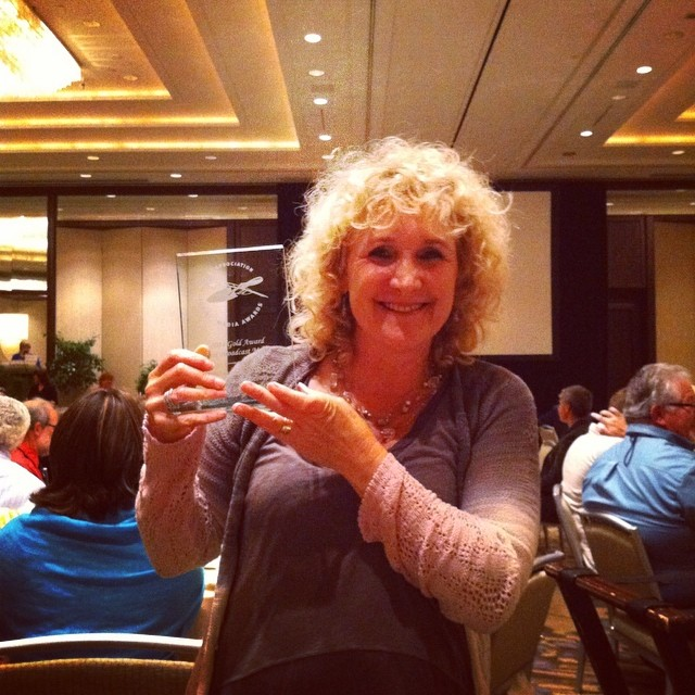 Yeah!  A Growing Passion won the #gardenwriters 2014 GOLD medal in the category of Broadcast Media!  So so proud of our team and all of their hard work. #gwa14  @agrowingpassion