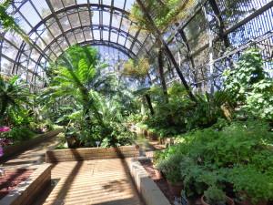 Inside the Botanical Building